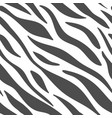 zebra abstract texture vector image vector image