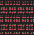beet field seamless pattern vegetable vector image vector image