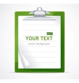 check list text vector image vector image