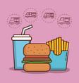 food truck design vector image vector image