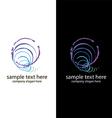 logo handmade soap bubbles vector image vector image