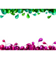 Nature multicolor background vector image vector image