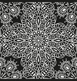 seamless ethnic pattern with mandala vector image vector image