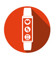 smart wristband vector image