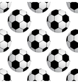 soccer ball seamless vector image vector image