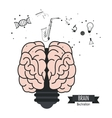 Brain design Mind icon Colorful vector image