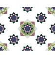 elegant ornaments geometric mandala vector image vector image