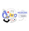 medicine - modern colorful flat design style web vector image