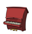 piano musical instrument vector image