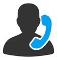 reception flat icon vector image