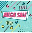 sale banner design social media banner with vector image