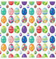 Seamless design with Easter eggs vector image vector image