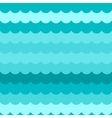 Waves background seamless blue flat wave vector image vector image