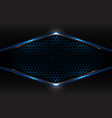 abstract technology futuristic concept black and vector image vector image