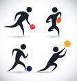 Sports design vector image