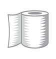 Toilet paper icon2 resize vector image vector image