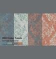vintage baroque victorian pattern set vector image vector image