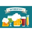 Beer bottle sign icons set vector image vector image