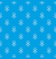 equilibrium pattern seamless blue vector image vector image