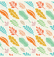 leaves exotic plants - creative vector image vector image