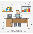 Office man Business man vector image vector image