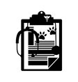 Pet veterinary symbol vector image