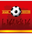 spain soccer classic icons of Spanish culture vector image