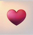 stock volumetric heart vector image
