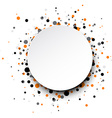 Background with colour drops vector image vector image