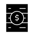 blockchain server icon simple minimal pictogram vector image vector image