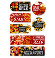 chinese new year sale shopping tags vector image vector image