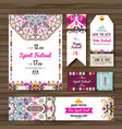 collection banners flyers or invitations vector image