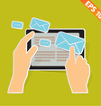 email communication - - EPS10 vector image vector image