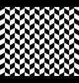 herringbone pattern in black and white vector image vector image