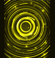 neon circles abstract background