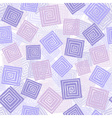 Squares seamless pattern vector image vector image