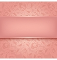 Decorative template vector image vector image