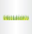 green grass background design element vector image vector image