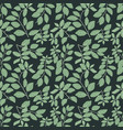 green leaves patterntropical background vector image vector image