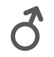 male gender symbol icon simple vector image