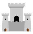 towers of a castle vector image vector image