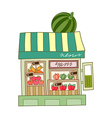 A store vector image vector image