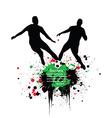 Artistic football vector image vector image