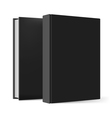 Black books vector image