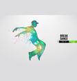Breake dancer teenager dance hip-hop