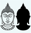 Buddha portrait vector image
