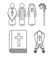 Catholic design vector image vector image