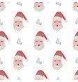 christmas patterns in scandinavian for your vector image vector image