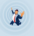 falling businessman vector image