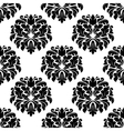 Floral seamless arabesque damask pattern vector image